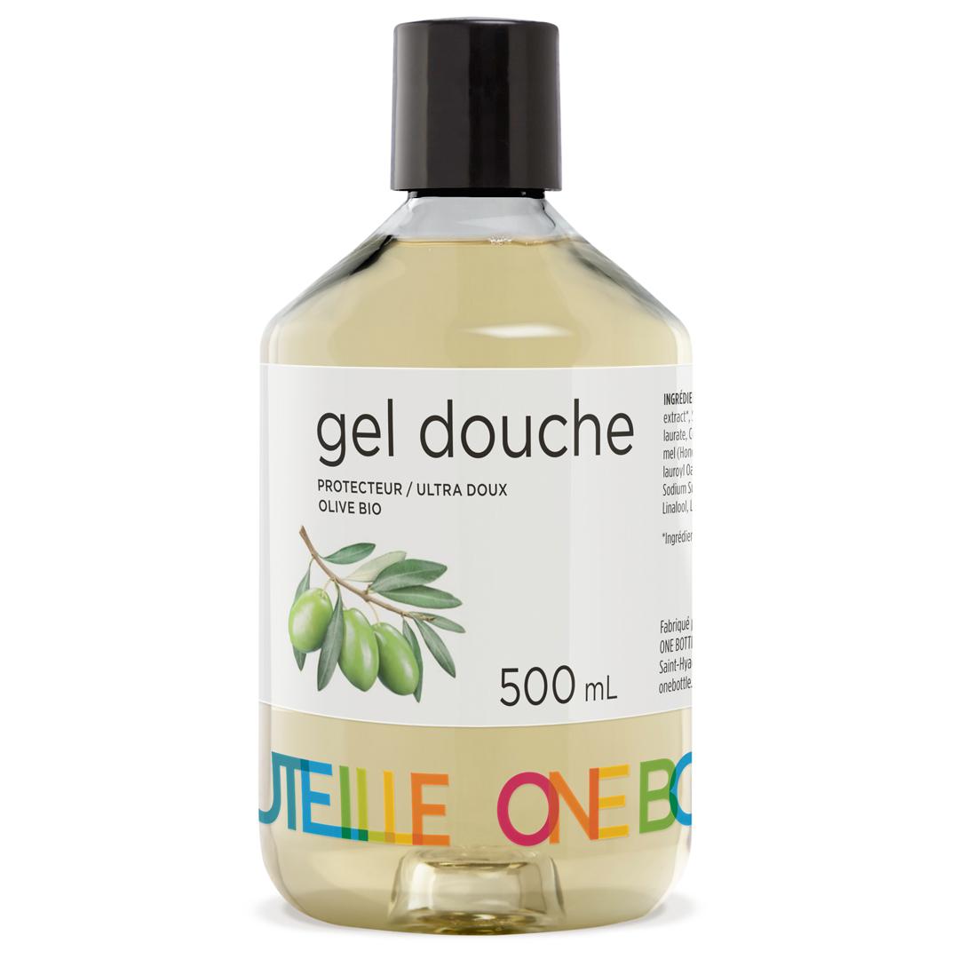 Gel douche protecteur olive, 500 ml